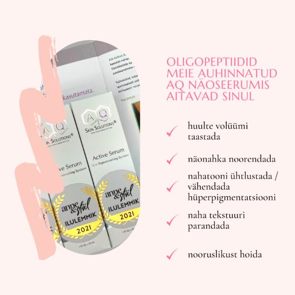 AQ Active Serum Noorendav seerum nahale, 30 ml