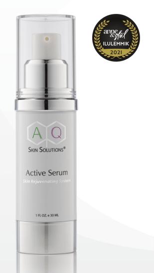 AQ Active Serum Noorendav seerum näonahale