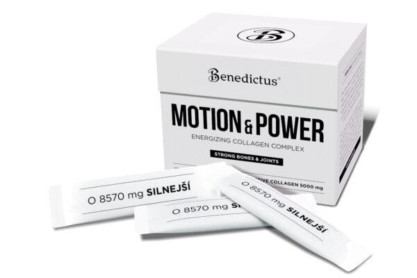 Benedictus Motion & Power Energiat andev kollageeni kompleks, 30 pakikest / 257 g